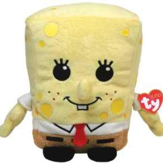 Ty Pluffies Spongebob...so cute!