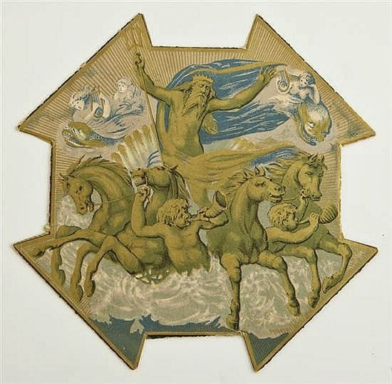 "1883 ""Atlantis, the Antediluvian World"" invitation."