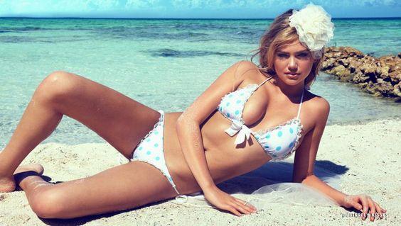 Kate Upton for Beach Bunny