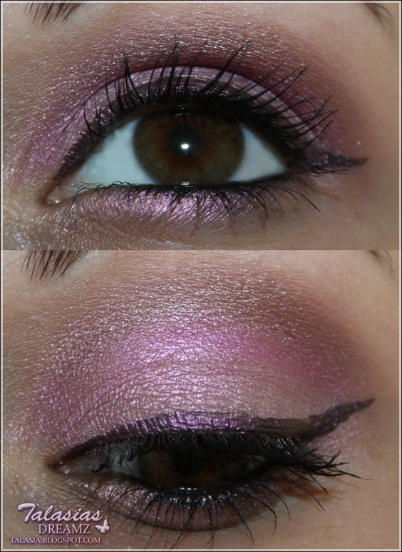 Eye Make Up - Datum: 25.07.2012  http://talasia.blogspot.de/2012/08/amu-swatch-manhattan-flitter-belle.html
