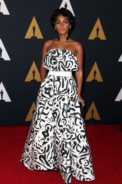 Janelle Monae In Bold Print at the Governors Awards  - Go Fug Yourself: Because Fugly Is The New Pretty