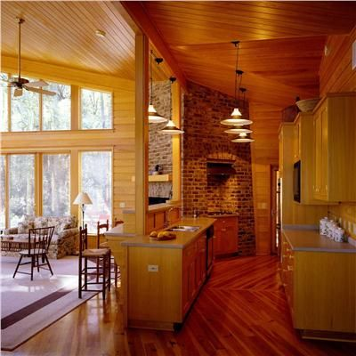 Open Country/Rustic Kitchen by Jane Frederick