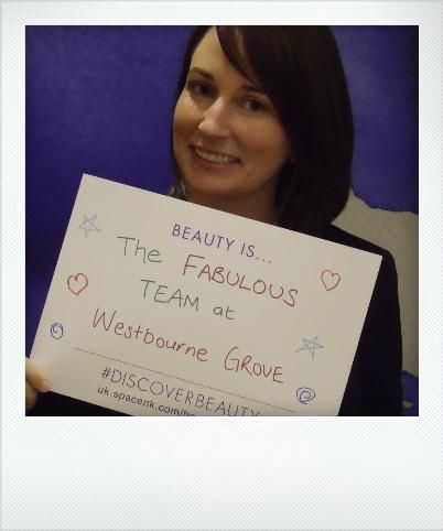 Beauty is... The fabulous team at Westbourne Grove... #DiscoverBeauty