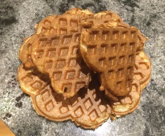 Chookie's #Thermomix Simple fast Sour Dough #Waffles Recipe http://bit.ly/2bkU8uM