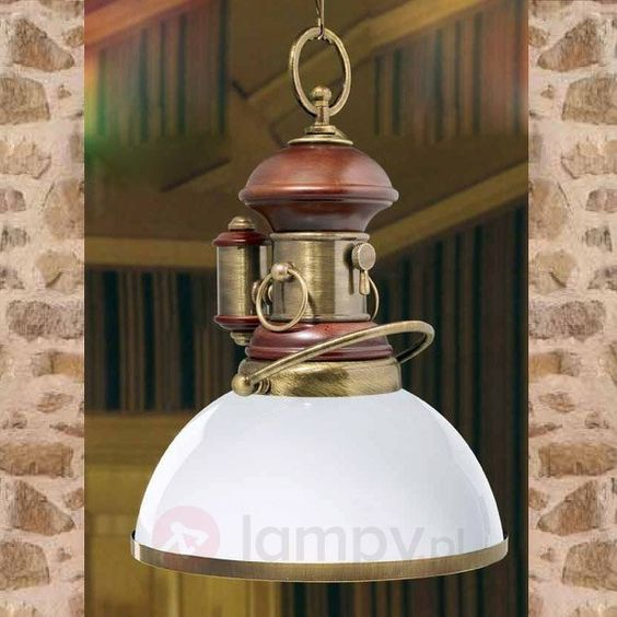 Starodawna lampa wisząca Grenville 6515054