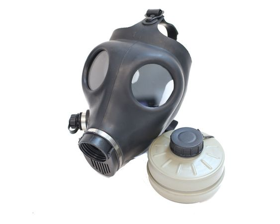 Adult Israeli Gas Mask. with FIlter.JPG