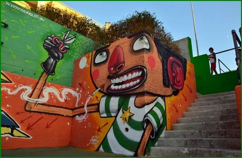 Mr Thoms est un street artist italien