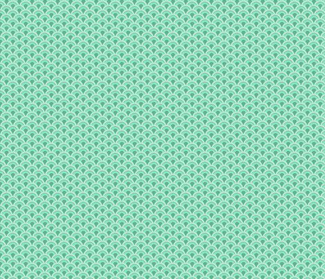 Scales in Teal fabric by ifneedb on Spoonflower - custom fabric