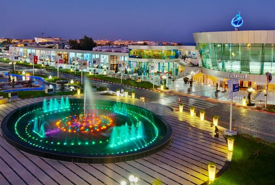 Soho Square - Sharm El Sheikh, Egypt. This was cool. Nice change to the hectic markets.