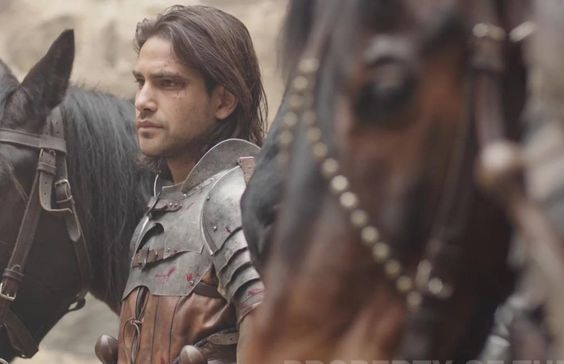 D'Artagnan played by Luke Pasqualino, The Musketeers series 3