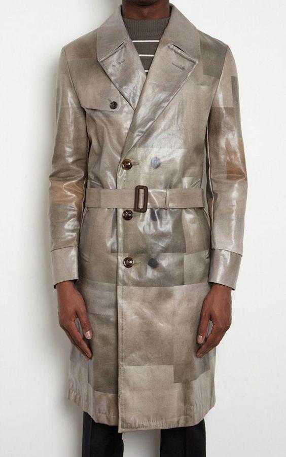 Maison Martin Margiela 10 Men's Printed Coat « UpscaleHype