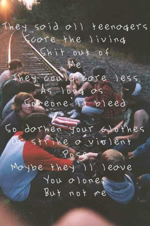 All Together Now Musicquotes Emo Music Quotes With Images Teenagers My Chemical Romance My Chemical Romance Band Quotes