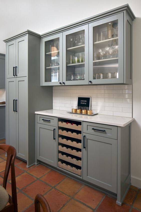 Farrow Ball Pigeon Kitchen Cabinets Green Kitchen Cabinets