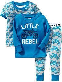 Pyjama 3pièces avec imprimés pour bébé