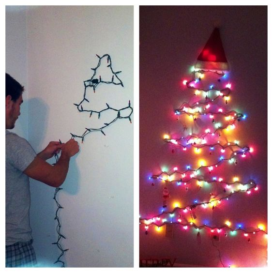 First christmas, Christmas trees and Command hooks on Pinterest