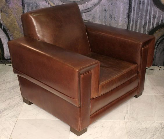 Pair of Arturo Pani Club Chairs 2