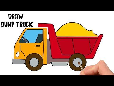 ee4714878168281997c0a59fd416c693 » Kid Truck Drawing