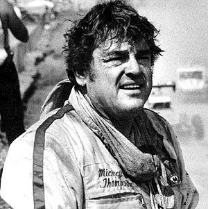 Mickey Thompson. Racing Legend. Innovator