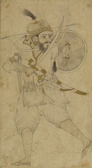 A Tatar soldier, 16th century: