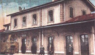 Σιδηροδρ.Σταθμός Τρικάλων  1940