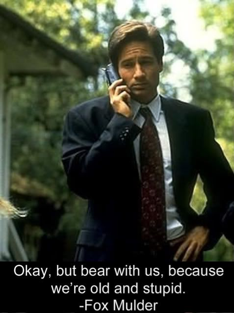 Quotes X Files Alluring Xfiles Quotes  Files Photo Mulder3  Trust No One