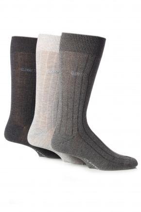 Glenmuir Classic Bamboo Ribbed Socks  £8.99