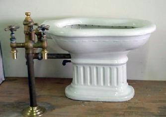 Vintage Plumbing Bathroom Antiques - Toilets, Showers, & Etc.