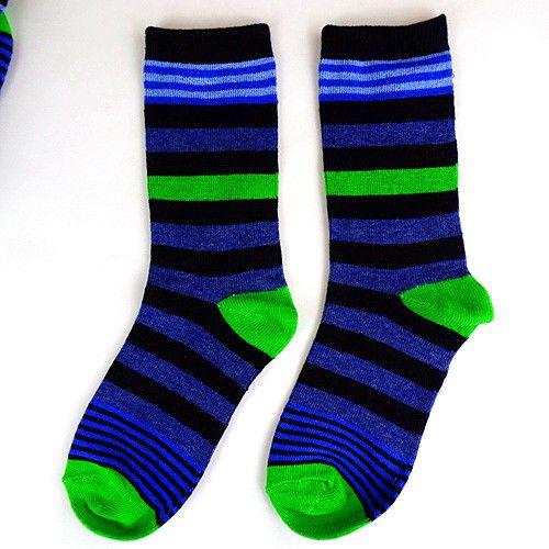 1Pairs Boys Socks Lot Classic Cotton Stripes Casual Dress Socks 1617cm  DWZ24 ? #fashion #clothing #shoes #accessor… | Striped casual dresses, Mens  socks, Boys socks