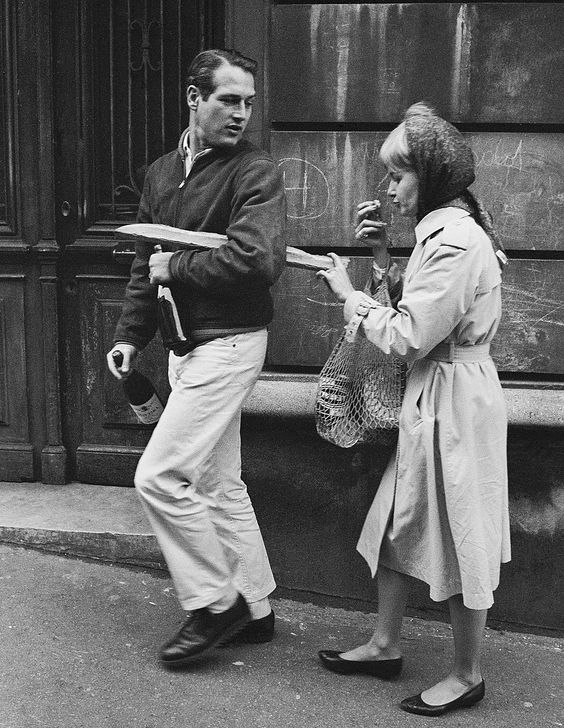 1960 Paul Newman est en France à lu0027occasion du tournage du film