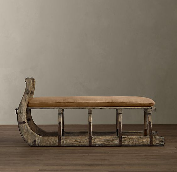 Antique Hungarian Sleigh Bench For The Home Pinterest Products Antiques And Catalog