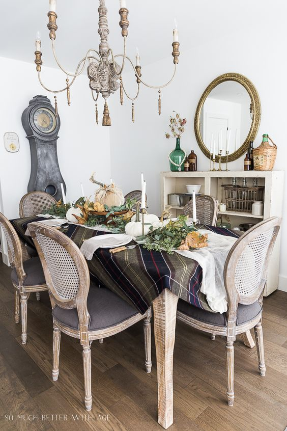 Decorating your table for fall this season has never been easier or more luxurious. These velvet pumpkins from LoveFeast Shop are a gorgeous addition! #falldecorating #holidaydecorating #somuchbetterwithage #velvetpumpkins #tablescape #tablesetting #thanksgivingdecor #frenchcountry