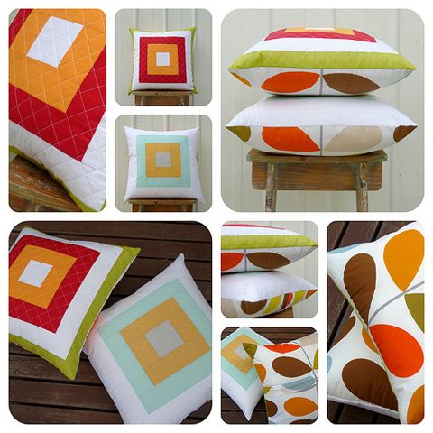 Red Pepper Quilts: Patchwork Pillow Parade