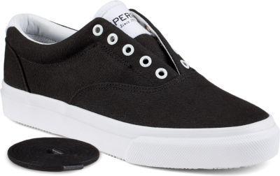 Sperry Striper CVO Sneaker Black/White, Size 8M Men's Shoes Thanksgiving