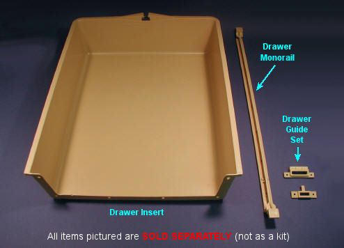 Replace broken drawers-Triangle Pacific Cabinet Drawer Hardware ...