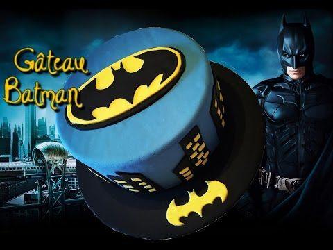 Gâteau Batman - Batman Cake | Cake design - YouTube