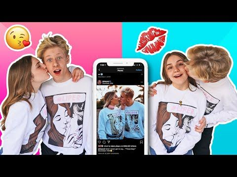 Recreating Viral Tiktok Couples Photos With My Crush Kissing