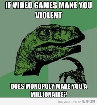 I think I'll start playing more Monopoly, just in case.