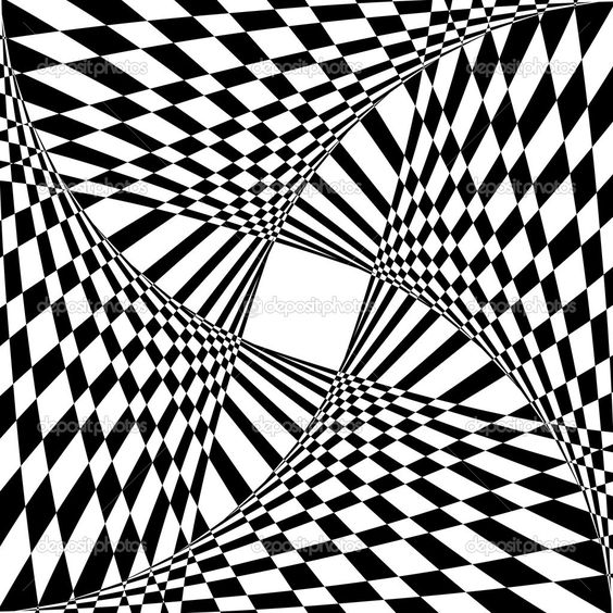 illusion coloring pages for adults - photo#8