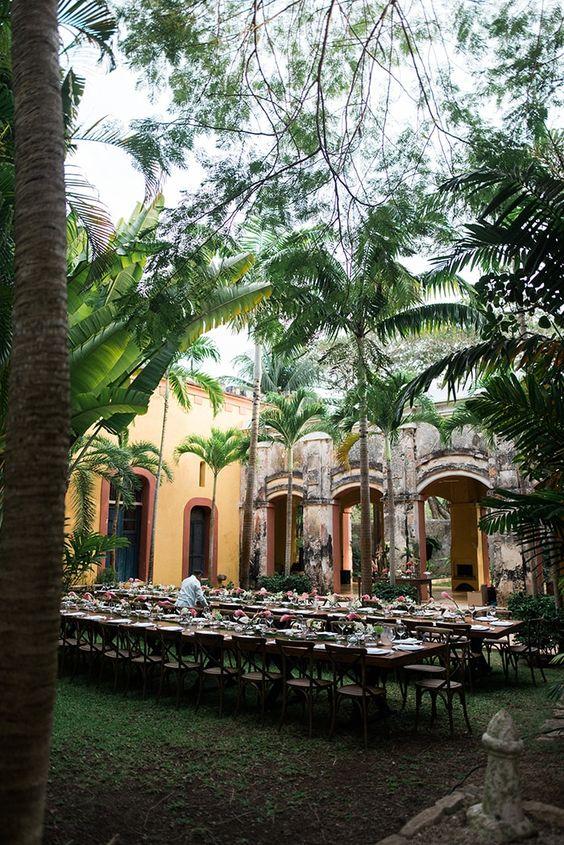 Tropical Destination Wedding in Mexico