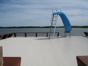 Wahoo Decks is proud to be the product of choice by our returning customer and dock builder Dave Goodrich. Dave prefers AridDek for building cost effective, sustainable and low maintenance boat docks.  Read our latest blog for more info:  http://www.wahoodecks.com/contact/press.htm