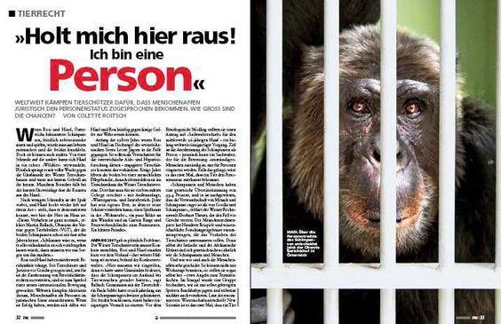 Menschenrechte - klare Sache. Doch was ist mit Tierrechten? http://ow.ly/g2SUf
