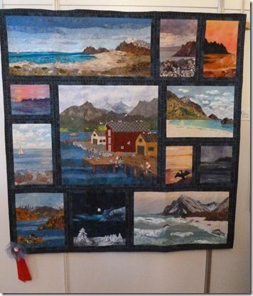 Landscapes quilt