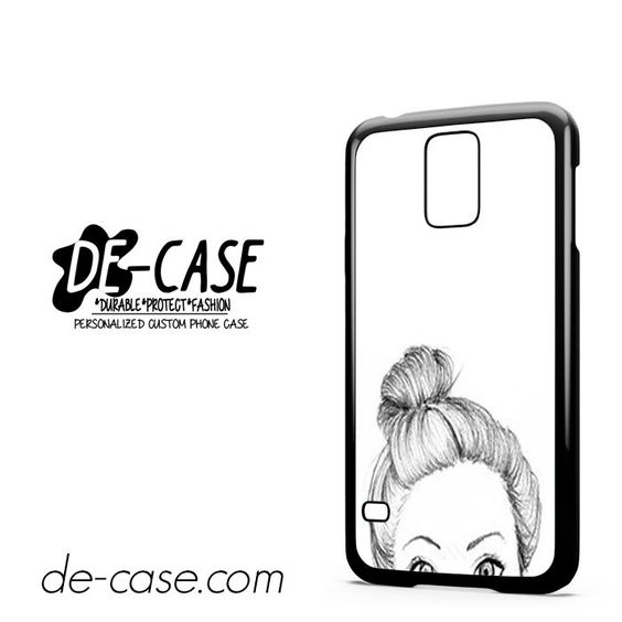 Half Cute Face For Samsung Galaxy S5 Case Phone Case Gift Present YO