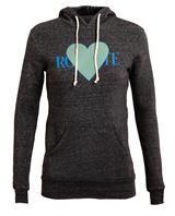 RODARTE | 3D Heart Motif Hooded Sweatshirt | Browns fashion & designer clothes & clothing