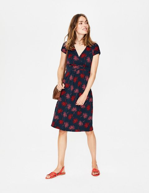 Casual Jersey Dress Navy Holiday Palm Beach Wear Dresses Casual Dresses For Women Casual Dresses