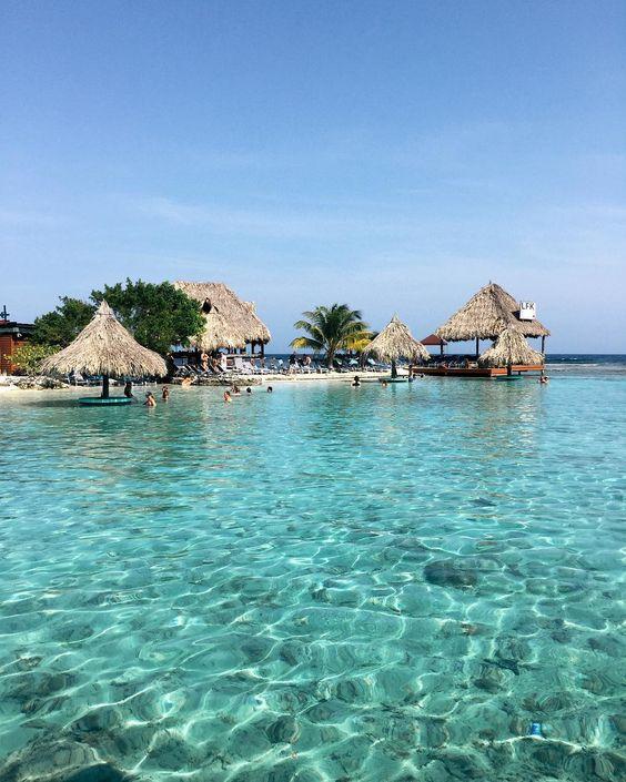 Little French Key private island, Roatan Bay Honduras via The Style Sauce