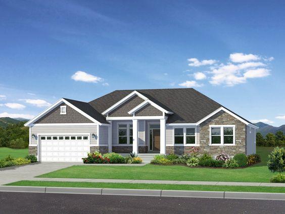 Landon | Upscale Utah Rambler Floor Plan | EDGE Homes