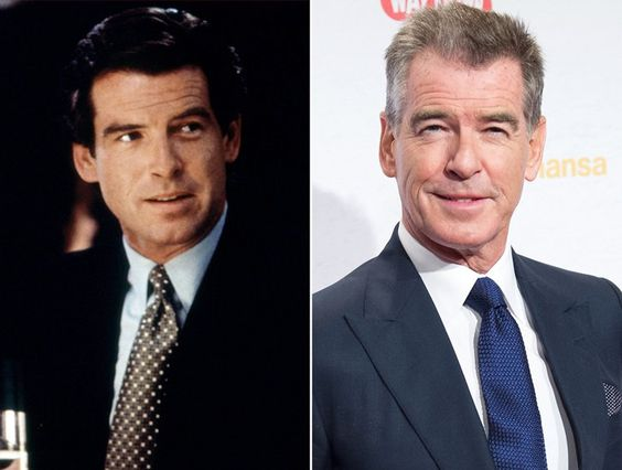 Pin for Later: Mrs. Doubtfire: Where Are They Now? Pierce Brosnan