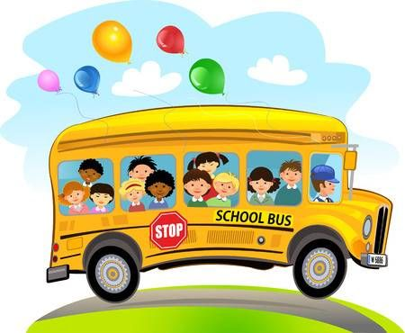 Stock Vector In 2020 Kids School Riding School Bus Kids Ride On