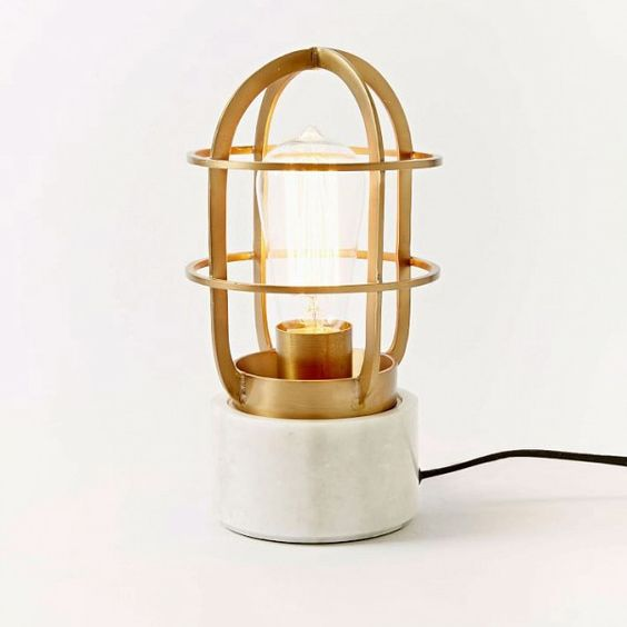 This Vintage-Inspired Boat Light Tops Our Wish List
